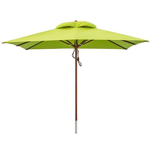 2. anndora® Sonnenschirm Gartenschirm 3 x 3 m eckig
