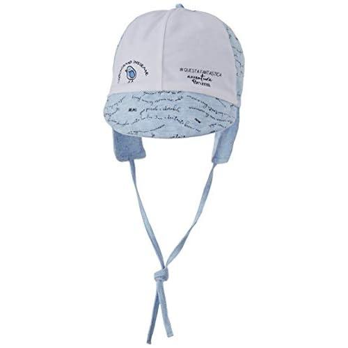 Brums Cappellino Jersey Mel.C/Visiera Cappello da Sole, Turchese (Celeste 05 114), 37/39 (Taglia Unica: 0) Unisex-Bimbi