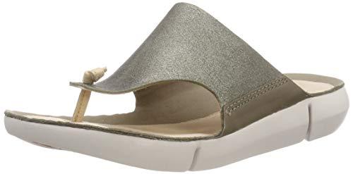Clarks Damen Tri Carmen Sneaker, Grün (Olive), 40 EU