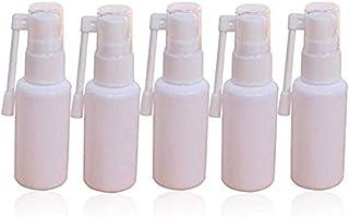 Nasal Spray Bottle, Kslong 10pcs Empty Plastic Small Rotation Mist Spray Bottles Elephant Nose Sprayer Pharmaceutical Medicine Atomizer (20ml)