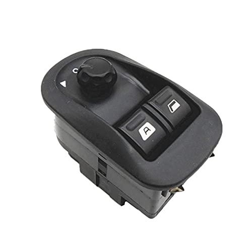 CLEIO Interruptor de la ventana de energía eléctrica Botón Master Control Windows Mirror Switch 6554 .WASHINGTON Ajuste para Peugeot 206 2002-2013 2014 2015 2016