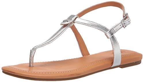 UGG Australia Damen Madeena Sandale, Silberfarben metallisch, 38 EU