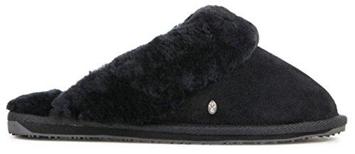 EMU Australia Damen Jolie Slip-On Slipper, Schwarz (schwarz), 38 EU