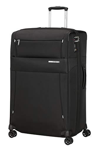 Samsonite Duopack - Spinner L erweiterbar, Koffer, 78 cm, 120/136 L, Schwarz (Black)