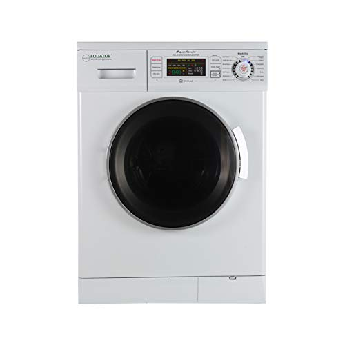 "Equator 2020 24"" Combo Washer Dryer White Winterize+Quiet"