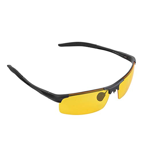 01 Gafas Antideslumbrantes, Mejoran Las Gafas De Sol De Visión Nocturna para Pescar para Andar En Bicicleta para Correr
