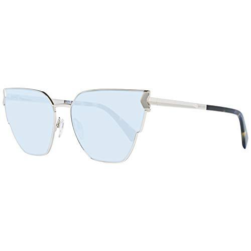 Just Cavalli JC824S-01V Gafas de sol, Shiny Black/Blue, 60 para Mujer