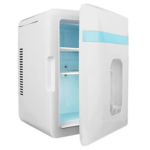 WEI-LUONG Mini nevera Mini 12L Frigorífico para refrigerador Frigorífico Portátil Mini refrigerador Refrigeración Refrigerador Refrigerador Herramienta Nevera de doble uso para automóvil 12V / 220V A3