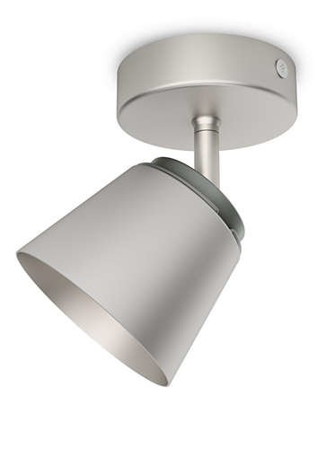 Philips 533401716 Dender Luminaire d'Intérieur Spot LED Métal Chrome 4 W