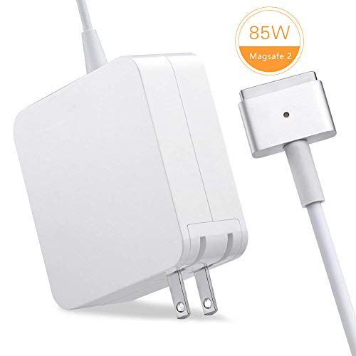 TechDot MacBook Pro Ladekabel 85W MagSafe 2 T Form MacBook Pro Ladegerät Power Adapter Netzteil kompatibel mit Apple 15
