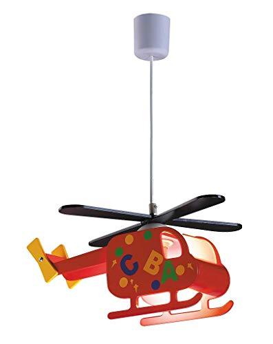 Lampe Suspension Enfant Lampe de Plafond Hélicoptère 1/4/726