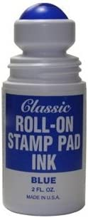 Roll-on Stamp Award Pad Ink - Ranking TOP15 Blue