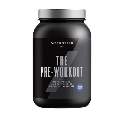 Myprotein Pro 11047054 The Pre-Workout - 30 Servings (Blue Raspberry), 420g