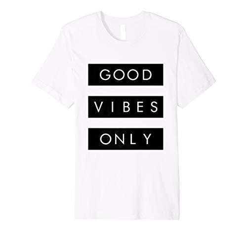 Herren good vibes nur WHT T-Shirt Herren Sneaker Köpfe Basketball Schuhe