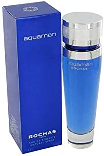 Aquaman Cologne by Rochas for Men - Eau de Toilette, 50ml