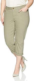 Rafaella womens Plus Size Denim with Benefits Capri Casual Pants