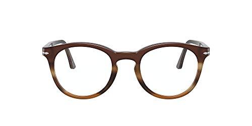 Persol Gafas de Vista PO 3259V Striped Brown 48/21/145 unisex