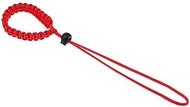 Multifunctionele pols anti-verloren anti-drop camera Lanyard, paraplu touw, gevlochten tentoonstelling touw (rood)
