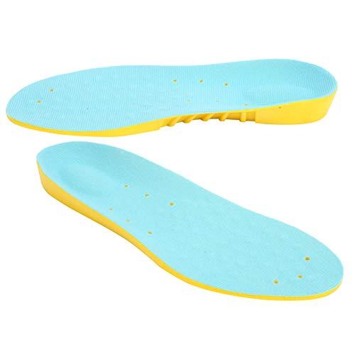 Inserciones de zapatillas para correr, plantillas de pies suaves y ligeras y transpirables para jugar baloncesto para hombres para adultos para correr(S)