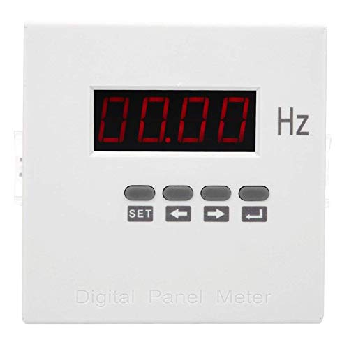 Xigeapg DDM-F96J Frequenz Messer LCD Digital Anzeige ein Phasen Z?Hler 45-65Hz AC220V