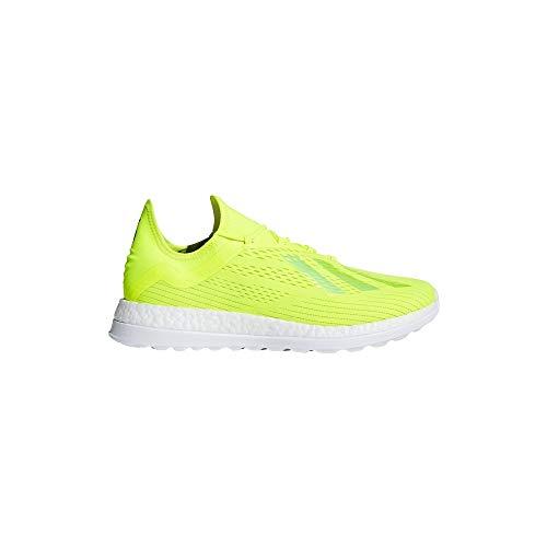 adidas X18+ Adizero TR, Zapatillas de Fútbol para Hombre, Amarillo (Syello/Fooblu/Iceyel Syello/Fooblu/Iceyel), 48 2/3 EU