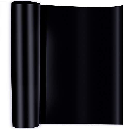 Papel de Transferencia, Rollo de Vinilo Transferencia de Calor para Camisetas Bolso Sombrero Pegatinas Carteles Negro 30.5cm x 100cm