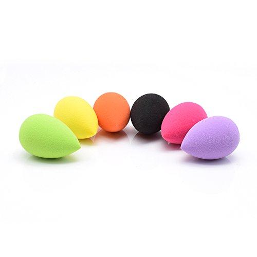 DOLOVEMK 6 PCS / Pack Mini Make Up Schwamm Mixer-6-Farben-Latex-freies Beauty-Schwammmixer-Set, makellose Deckungsschwämme für Augen Make-up, billiges Smooth Foundation Sponge Powder