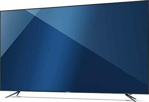 TechniSat TECHNIVISTA 75 Zoll (189 cm) UHD Fernseher (4K, 3x Twin Tuner, Smart TV, Alexa Sprachsteuerung, PVR Aufnahmefunktion, WLAN, LAN) titan