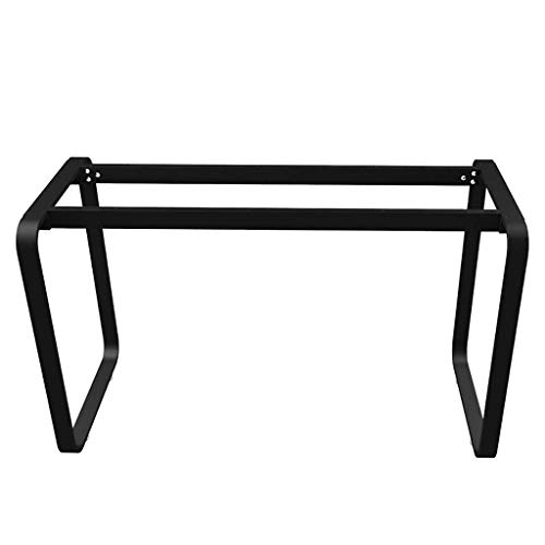 YXB Metalen tafelpoten - eenvoudig te installeren metalen poten bank benen eettafel poten computer tafelpoten - industriële sterkte - voor koffie en koffie tafels, stoelen, home DIY projecten