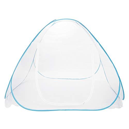 Moskitonetz-Betthimmel Pop Up Folding Single Door Einfach einzurichten mit Bottom Anti Mosquito Bites moskitonetz doppelbett für Bed