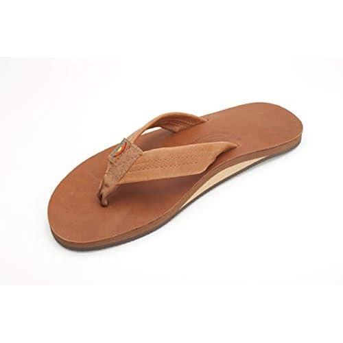 bc9b026402bf Rainbow Women's Wide Strap Single Layer Arch Sandals
