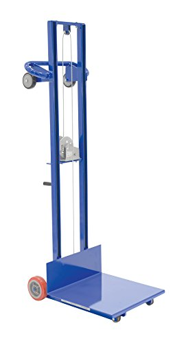 Vestil LLW-202058-FW Light Load Lift with Hand Winch, Steel, 29-3/4