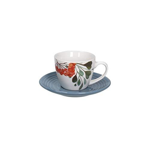Tognana Set 6 tazzine caffè Sophy, Porcellana, Multicolor