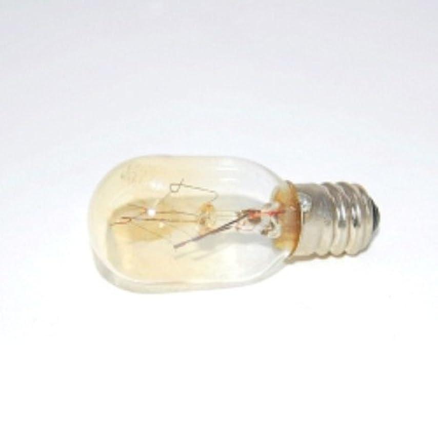 ちらつき鳴り響くじゃがいもアロマライト 替用 15W電球 クリア 1個