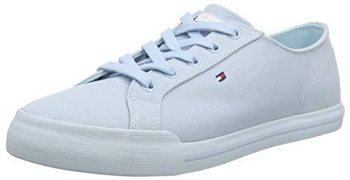 Tommy Hilfiger Damen Pastel Tommy Essential Sneaker, Blau (Omphalodes 450), 38 EU