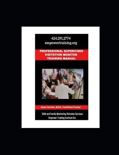 Professional Supervised Visitation Monitor Training