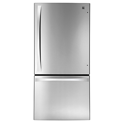 Kenmore Elite 79043 24.1 cu. ft. Bottom Freezer Refrigerator in Stainless Steel