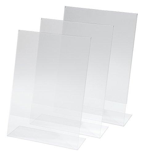 SY110 Tischaufsteller schräg, für A4, 3 Stück