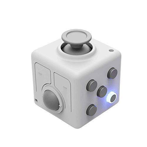 ANAN Multifunktionale Trackball-Controller, Mini-Platz Entpacker Spiel Bluetooth Wireless Mouse Laser-Projektions-Pen Air Mouse, für Computer-Spiel-Speech Spielzeug,Weiß