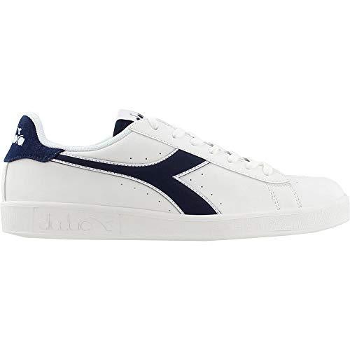 Diadora Mens Game P Den Lace Up Sneakers Shoes Casual - Blue,White - Size 11 D