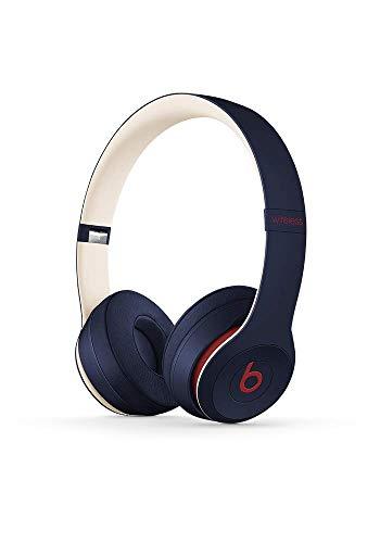 Beats Solo3 Wireless On-Ear Headphones – Beats Club Collection – Club Navy (Renewed)