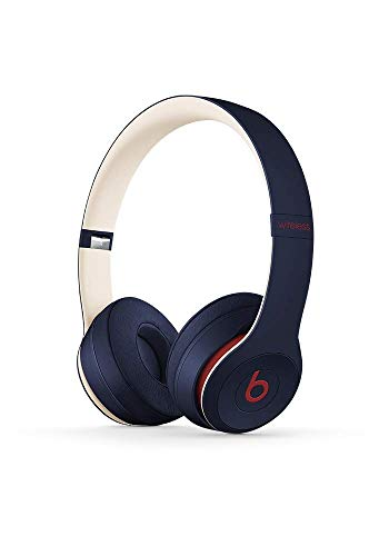 Beats Solo3 Wireless On-Ear Headphones – Beats Club Collection – Club Navy (Renewed)
