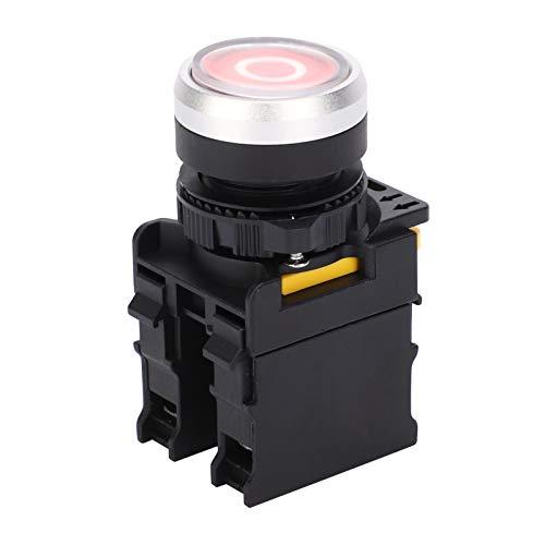 Qqmora Interruptor de botón de Inicio Botón pulsador Impermeable Suministros de Equipo...