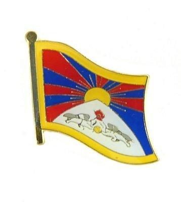U24 vlaggenpin Tibet vlag vlag pin stekker