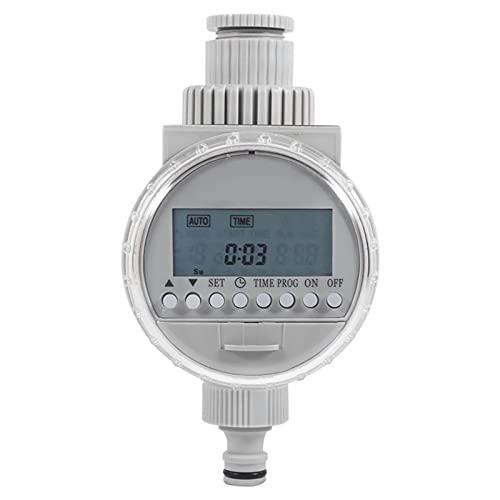 FENGYZ Temporizador de riego Temporizador de riego automático de energía Solar Programable LCD Mostrar temporizadores de Manguera Sistema de riego