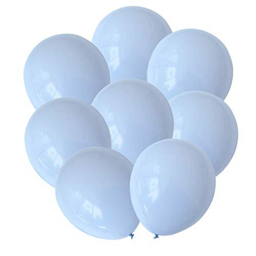 D DOLITY 30pcs Ensemble Ballons en Latex pour Fête Mariage Soirée Eté - Couleur Macaron - Bleu 2