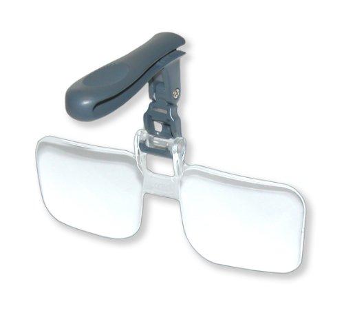 Carson VM-14 - Gafas de aumento para gorras (2.25x aumentos) transparente