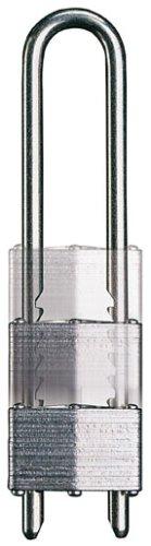 MASTER LOCK - 517EURD - Vorhängeschloss aus lamelliertem Stahl 44m mit herausnehmbarem und verstellbarem Bügel - 79-136 mm