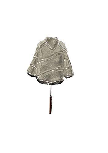 Giftsforall Eishockey-Trikot FT28, 2,9 x 3 cm, englisches Zinn auf einer Krawattennadel, für Hut, Schal, Kragen, von Derbyshire UK