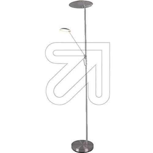 Edmonton 9829675045 - Lámpara LED de pie (níquel, 2700-4000 K, 35/7 W)